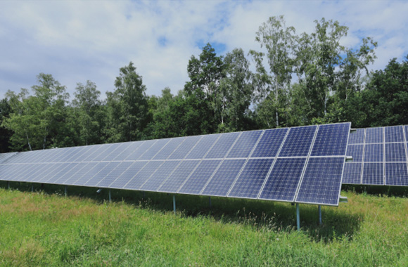 Optimized plant design of a commercial pv power plant
