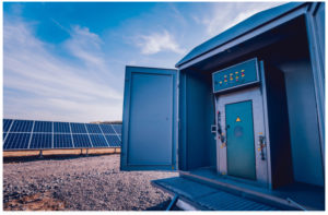 Repowering measures on a commercial solar plant inverter