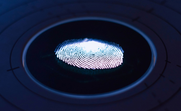 Glowing electronic finger print of a high frequency analysis