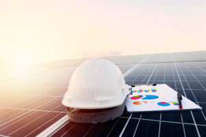 Tools and data report of a contruction supervision project for a pv power plant
